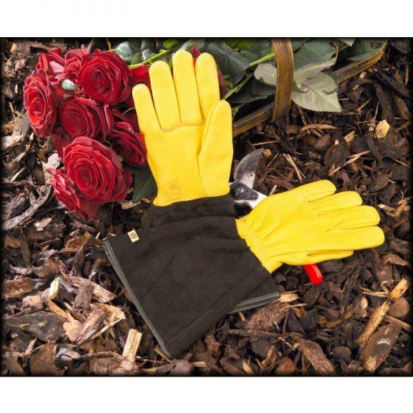 Gold Leaf Ladies Tough Touch Garden Gloves
