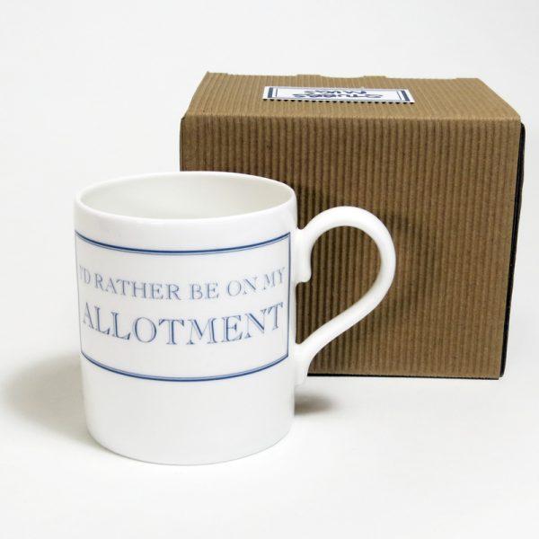 allotment mug with box
