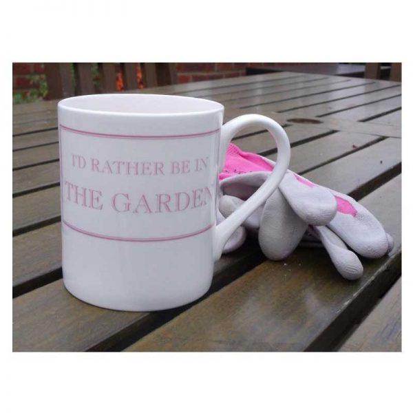 Stubbs Gardening Mug with gloves