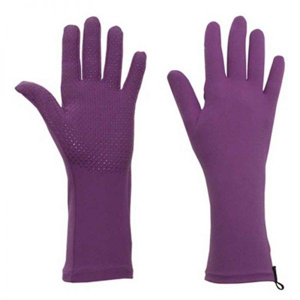 Foxgloves Grip Gardening Gloves Iris Purple