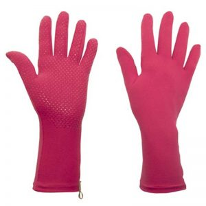 Foxgloves Grip Gardening Gloves, Fuschia Pink
