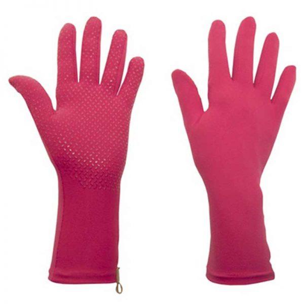 Foxgloves Grip Gardening Gloves, Fuschia Pink