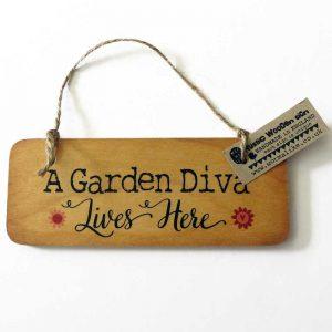 Garden Signs Hanging Signs For Home Garden Garden Divas