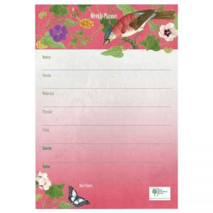 rhs birds and bees weekly planner