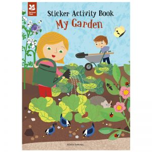 my garden sticker activity book