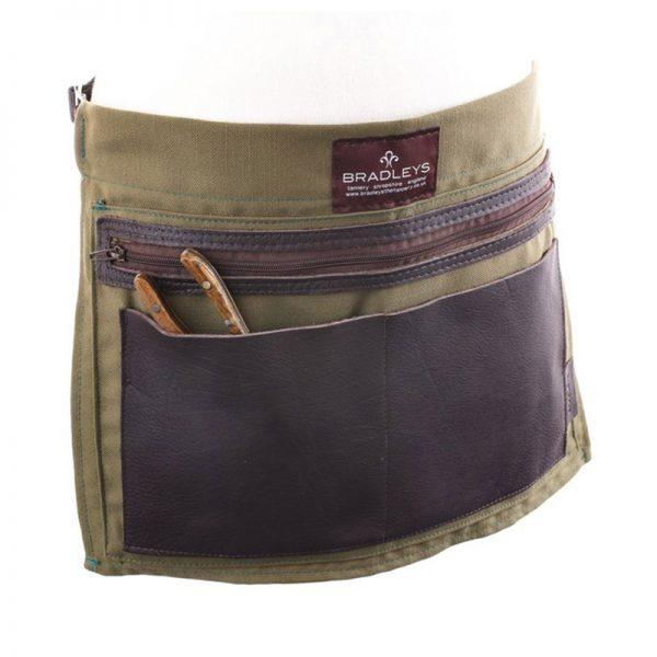 Leather Linen Apron