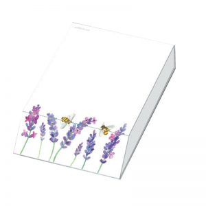 Lavender-Bees-Slant-Pad