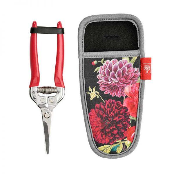 british bloom garden snips with holster